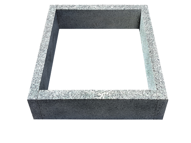 granit grabeinfassung 80 70 cm grabplatten. Black Bedroom Furniture Sets. Home Design Ideas
